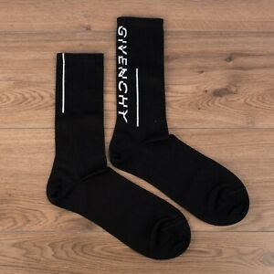GIVENCHY 145$ Socks In Vintage Stretch Cotton With Givenchy Split Motif