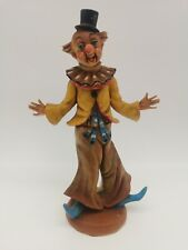 Vintage FONTANINI Depose Italy Clown Figurine