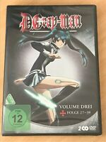 <DVD> D.Gray Man - Volume 3 - Folge 27-39 # 2 DVD Box * Neu * in Folie