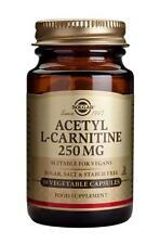 Solgar Acetyl-L-Carnitine 250 mg Vegetable 30 Capsules