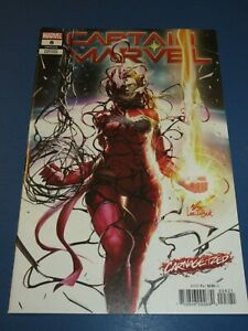 Captain Marvel #8 Awesome Lee Carnage-ized Variant NM- Beauty Wow