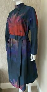 PAUL SMITH MAINLINE PAULS PHOTO PRINT BELTED COAT SIZE 12/16 RETAIL £1150 BNWT