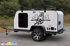 for VAN SUV RV WALL PICK UP TRUCK 4X4 OFF ROAD Mud Tire Decal Sticker Vinyl Wrap