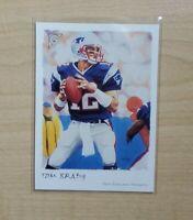 Tom Brady 2002 Topps Gallery #50 New England Patriots NFL
