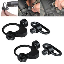 2PCS QD Rilfe Sling Mount Adapter 2 Position Receiver Dual Loop 2ar End Plate *
