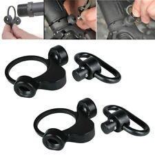 2Pack QD Rilfe Sling Mount Adapter 2 Position Receiver Dual Loop A/R End Plate