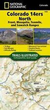 Colorado 14ers South, Elk, San Juan & Sangre de Cristo Mts., by Nat'l Geographic