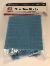 Learning Resources Base Ten Blocks 121 Piece Smart Pack LER3671