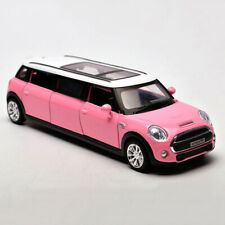 BMW Mini Extended Limousine 1:36 Model Car Alloy Diecast Toy Vehicle Pink Gift