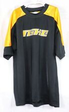 Nike Youth Boys Shirt SS Shirt Top Tee Black Yellow Spellout Size L 14 16