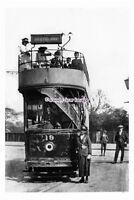 pu1991 - Yorks - Hexthorpe Tram & Crew, No.19 on Route to Hexthorpe - photograph