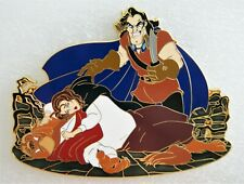 "Despair Beauty And The Beast Belle Gaston Jumbo 4.5"" Fantasy Pin Le 35"