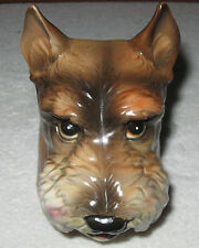 Vintage China Figurine/Pottery Plant Holder - International Art Ware Corp - Dog