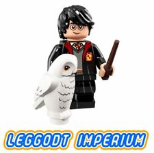 LEGO Minifigure - Harry Potter with owl - 2018 colhp1 minifig FREE POST