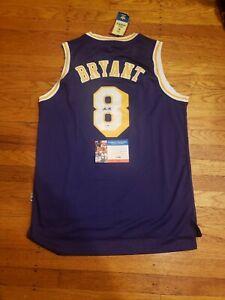 Kobe Bryant Signed Jersey PSADNA