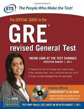The Official Guide to the GRE revised General Test by Educational Testing Servic