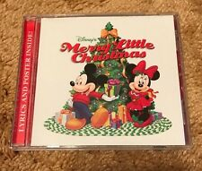 Walt Disney Records 2006 Merry Little Christmas CD Mickey Minnie Music
