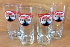Budweiser New York City Statue Of Liberty 16oz. Pint Glass Set of 4 NEW Glasses