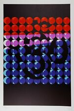 Art cinétique Optique Art lithographie SOTO GRAV Om̐ hindouisme bouddhisme