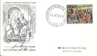 NZFD788  New zealand Christmas  covers   1964   FDC $4.00
