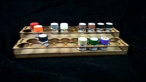 Paint Stand 36 pots rack storage Tamiya acrylic hobby warhammer airfix wargames