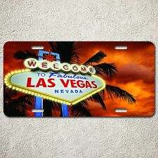 LP0021 Car License Plate Welcome Las Vegas Nevada Vacation Memory Souvenir Decor