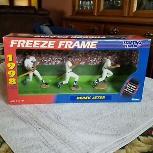 Derek Jeter 1998 starting lineup freeze frame NIP