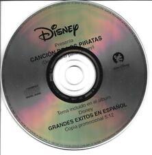 BSO OST -MECANO - CANCION DE LOS PIRATAS  DISNEY CD SINGLE 1 TRACK PROMO 1998
