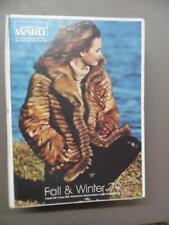 1979 Montgomery Ward Fall/Winter Catalog Fashion Home Decor Vintage Hard Cover