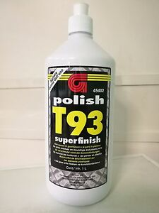 Polish Politur GELSON T93 45402 Superfinish Nicht Verschmutzt Dichtungen Tuning