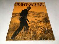 Sight And Sound Vintage Cinema Movie Magazine Spring 1968 Brando Art Film 60's