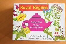 4 x Box Royal Regime Tea Sachets - Weight Loss Natural Herb