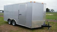 8.5x16 Enclosed Trailer Cargo V Nose 18 Utility Motorcycle Lawn 8 Car Hauler