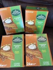 Green Mountain Pumpkin Spice Coffee 96 count Keurig K cup Pods Exp 6/2021