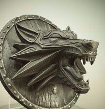 Fenrir Norse Viking Wolf Odin Iron Resin Sculpture Wall Hanging Art Home Decor