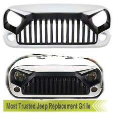 Replacement Grill Grille for Jeep Wrangler Unlimited Rubicon JK Sahara 2007-2017