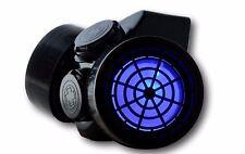 s TrYptiX Cyber Goth Gas mask Respirator Blue LED EDC Burning Man