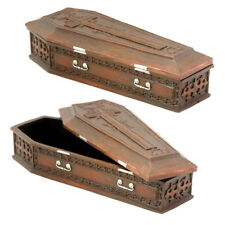 Vampire Cross Moon and Bat Coffin Box