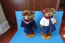 Retired The Bearington Collection Jack 1190, Jill 1191 With Tags - retired 2006