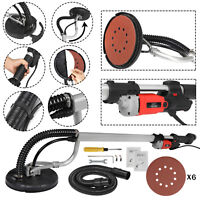 New Electric Drywall Sander Adjustable Variable Speed With Sanding Pad 800W