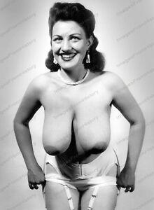 8x10 Print Sexy Model Pin Up 1950's Nudes #M50983