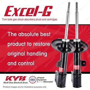 2 x Front KYB EXCEL-G Strut Shock Absorbers for PEUGEOT 308 RHR RHH DT4 I4 FWD