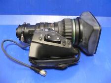 """Mint Canon KJ17x7.7IRSE SX12 HDGC 2/3"""" B4 HD lens, Canon HJ broadcast"""