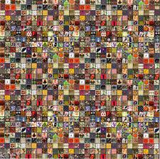 CLASSIC VINTAGE BLOTTER SAMPLER PRINT small  BLOTTER ART perforated LSD Acid Art