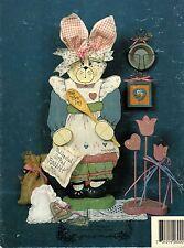 Tole Decorative Painting Kim Russell's Keepsakes Bunnies Wedding Bathroom Book