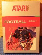 Boxed Atari 2600 Complete with Manual and Cartridge: Atari Realsports Football