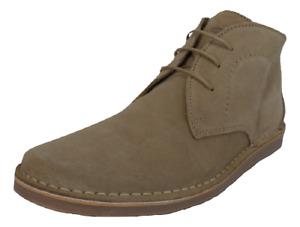 Ikon Original NOMAD Beige real suede retro mod desert boots