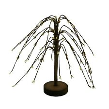 7-Inch Cream Pip Berry Weeping Willow Tree Primitive Rustic Home Decoration Art
