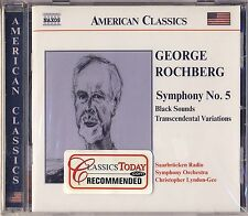 Rochberg - Lyndon-Gee: Symphony No. 5, Black Sounds, Transcendental Var. New