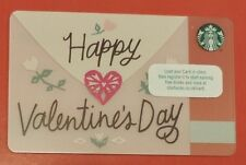 RARE STARBUCKS CARD 2017 VALENTINES NORTHERN IRELAND NO VALUE COLLECTORS ITEM
